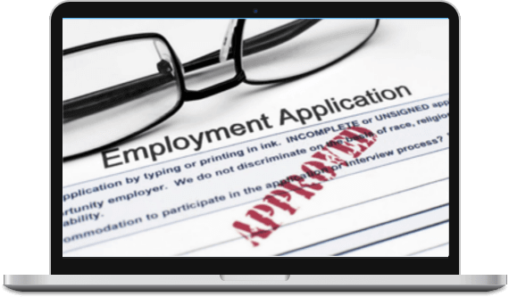 job applications approved